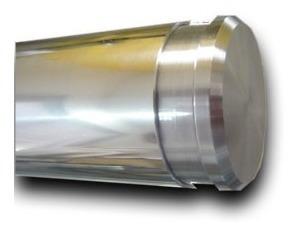 barral manijon acero inoxidable diam.50 mm - largo 2.00 mts