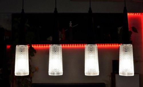 barral techo moderno colgante diseño  4 luces