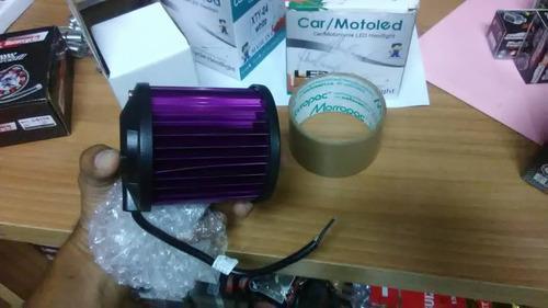 barras 6 led de colores para moto o carro