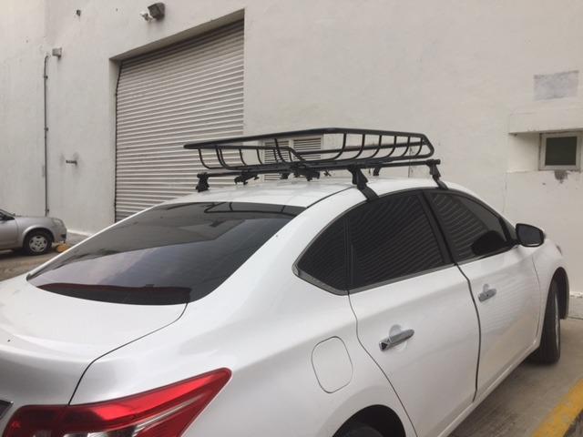 Barras Aluminio Transversales Nissan Sentra Tiida Versa