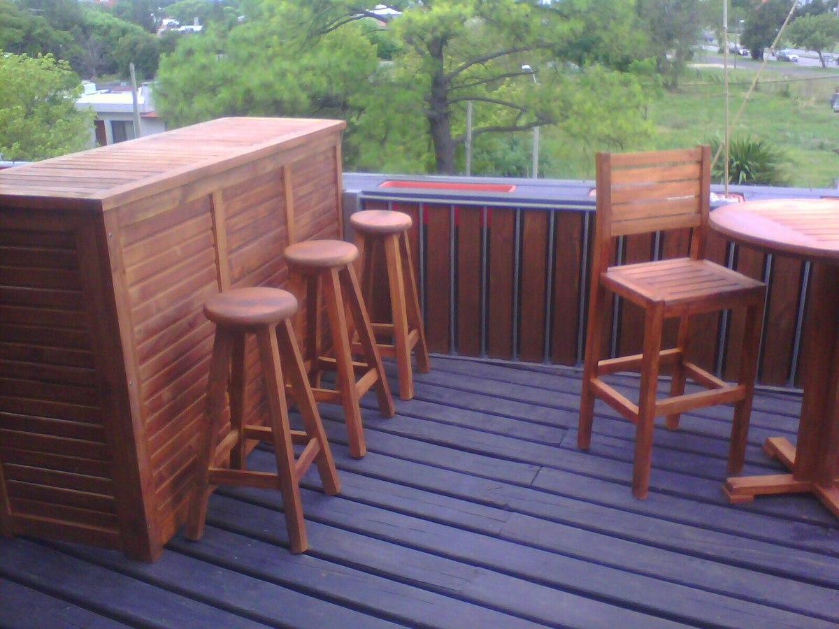 Barras bar de madera lustrada estandar y a medida 9 - Madera a medida ...