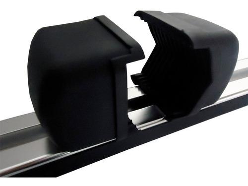 barras con rieles portaequipaje parrilla autos 1.20 m