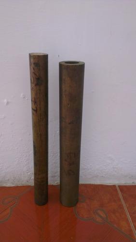 barras de bronce diametro 3  1/16pulg. x 14 pulg. long.