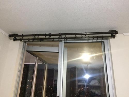 barras de fierro para cortina