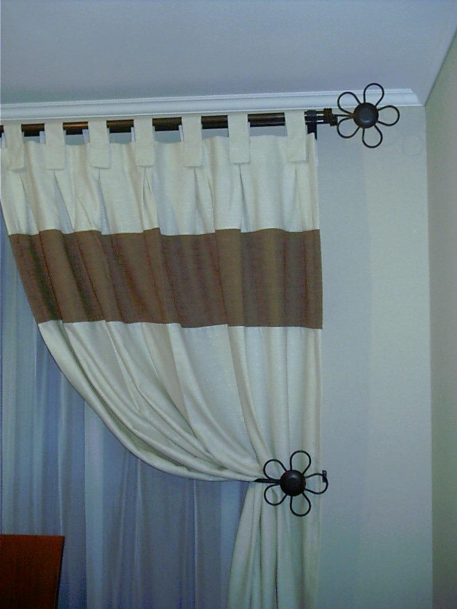 Barras de fierro y rieles de aluminio mantenci n store for Soportes para colgar cortinas