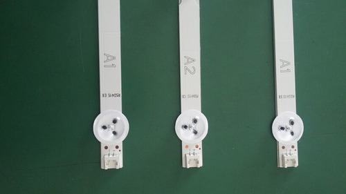 barras de led tv lg 32ln549c 2 barras 7 leds +1 barra 8 led