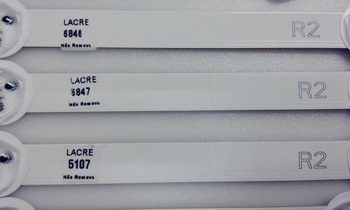 barras de led tv lg 50ln5400 50la6200 valor da unidade