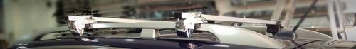 barras de lujo parrilla transversale techo universales x 2