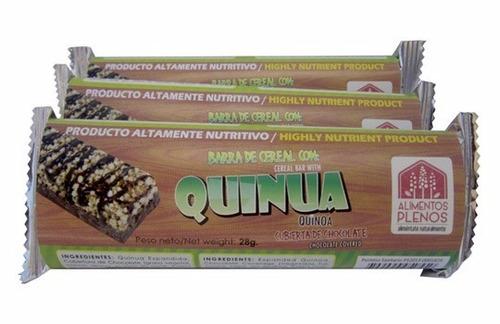 barras de quinua