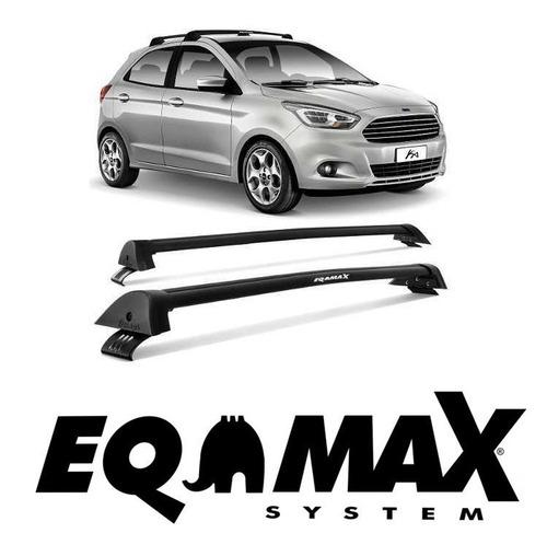 barras de techo eqmax ford ka nuevo 2015-2016 negro