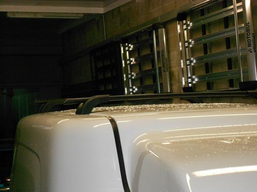 barras de techo fiat fiorino con colocacion incluida