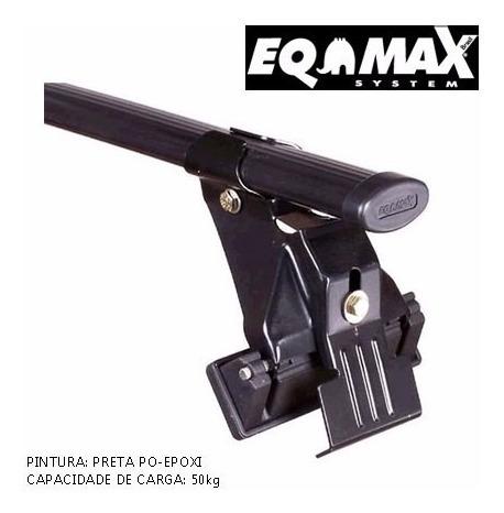barras de techo fiat uno 4p 2005 até 2008 eqmax
