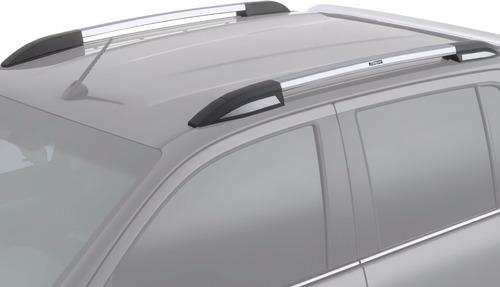 barras de techo longitudinal aluminio pulido bepo vw amarok