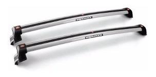 barras de techo volkswagen up 4p  2014 / 2017 gris plata