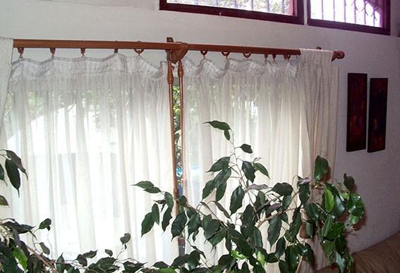 Barras en madera para cortinas en set en mercado - Cortinas de madera ...