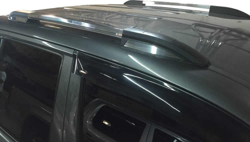 barras longitudinal de techo aluminio bepo chevrolet s10