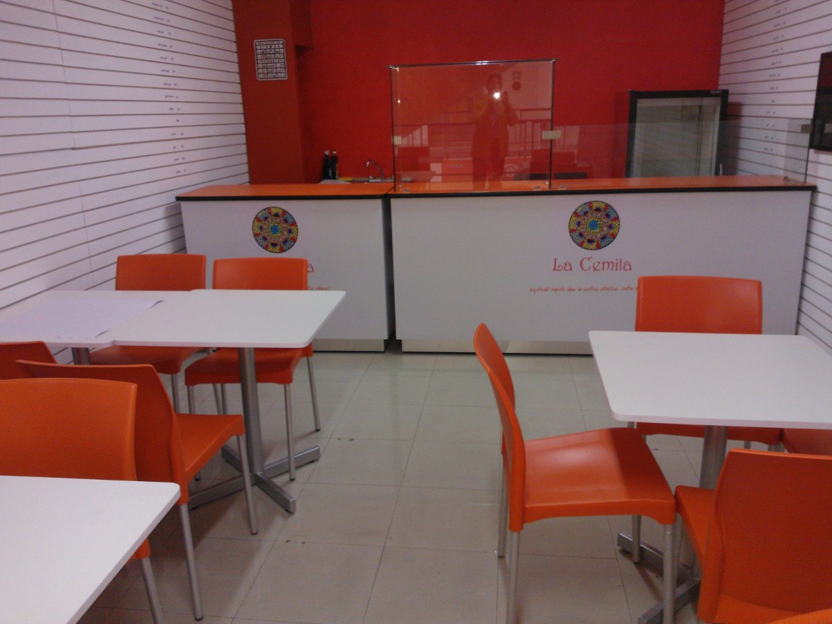 Barras m mostradores cafeteria mesas restaurante etc for Mesas para cafeteria