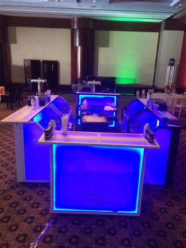 barras  móviles led para todo tipo de eventos!!