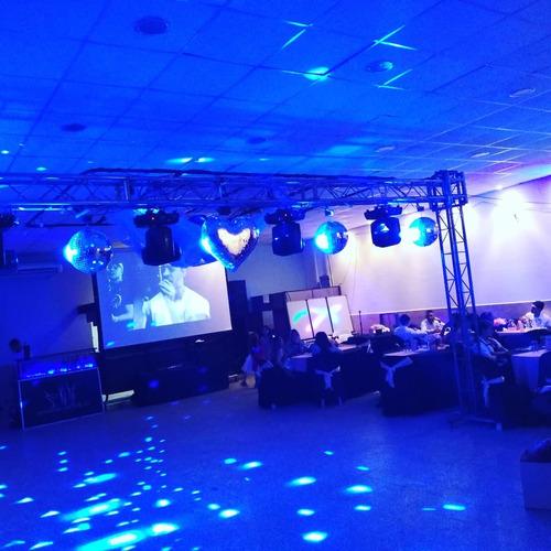 barras móvil,sonido e iluminacion decoraciones para eventos