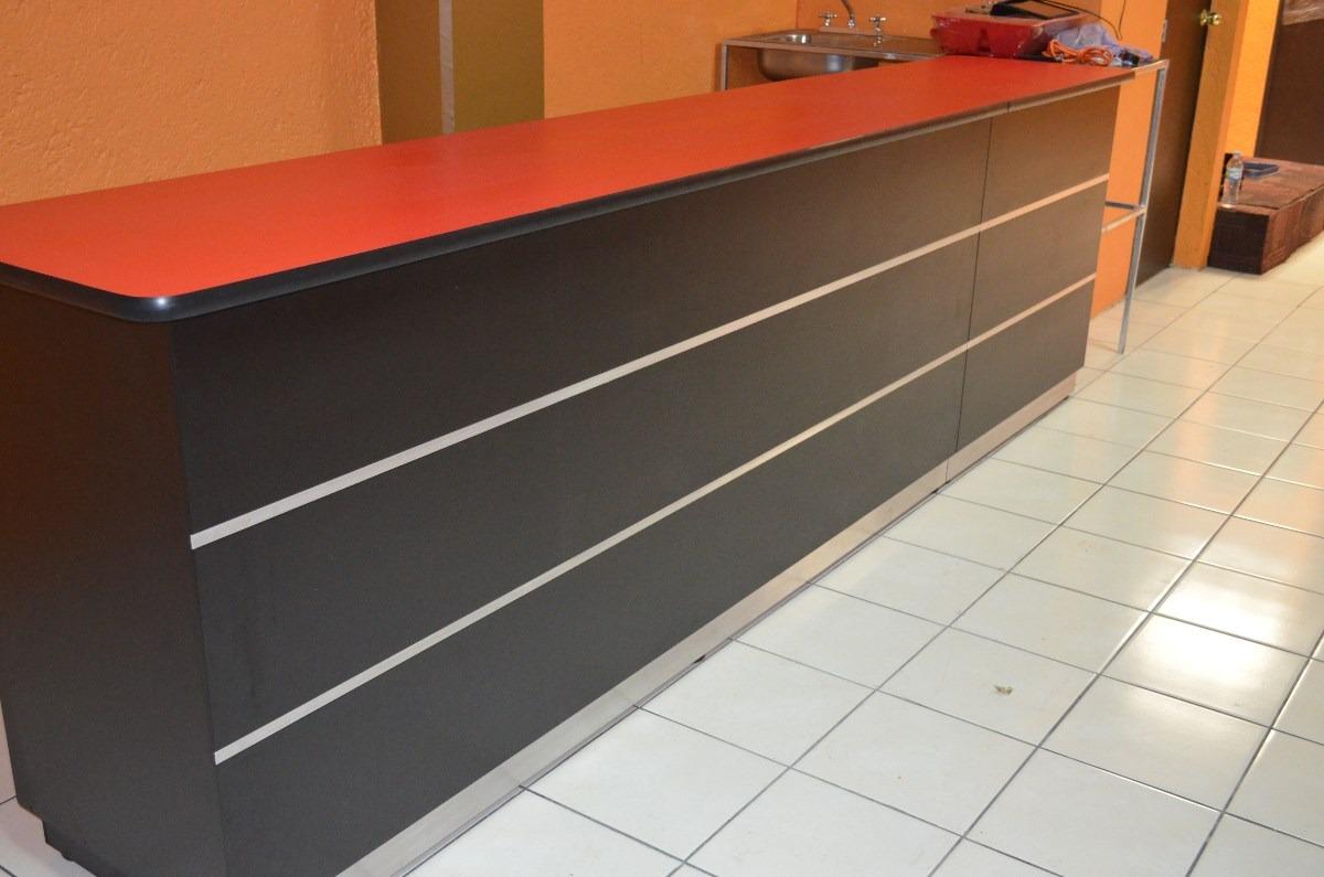 Barras para cafeteria y crepas mesas fabricamos s pedido for Barras en madera para bar