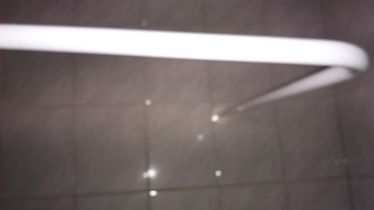 Barras para cortina de ba o angular blancas 1x2 mt 3b for Barra cortina ducha angular sin tornillos