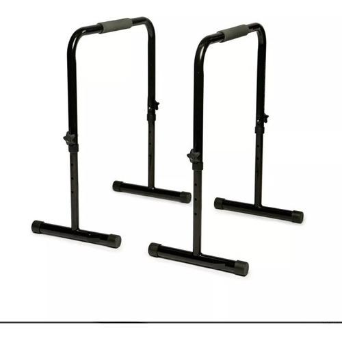 barras paralelas ajustables leberts - 80 - 100 cm