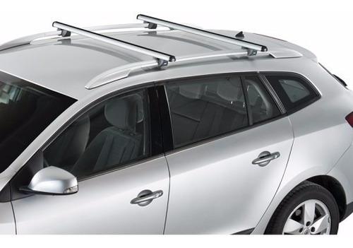barras parales auxiliares de techo universales con llave x 2