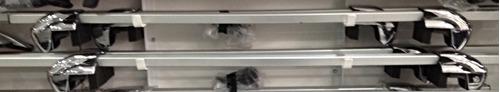 barras parales de lujo auxiliares de techo universales x 2