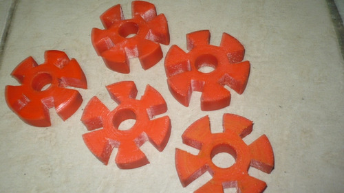 barras poleas planchas de poliuretano