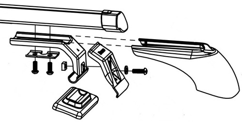 barras porta equipaje alum. bracco citroen c5 [4p] 2005 2009