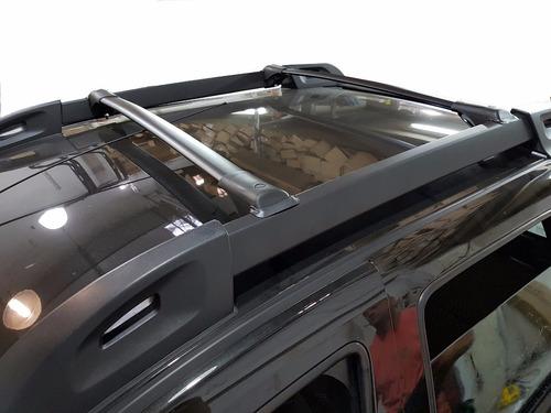 barras porta equipaje aluminio negras de lujo fiat toro