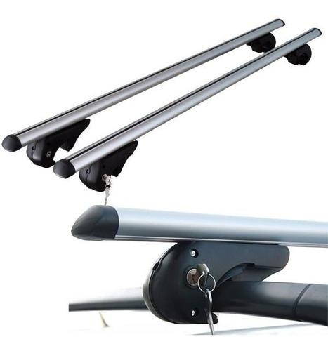 barras porta equipaje aluminio p/ strada doble cabina