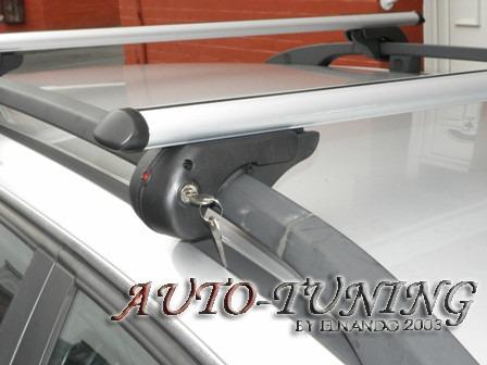 barras porta equipaje con llave fiat mobi way barra oval