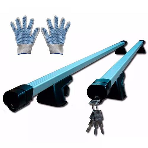 barras porta equipaje fiat qubo c/llave c/baranda laterales
