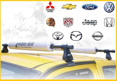 barras porta equipaje p canastilla golden hill gh00 auto