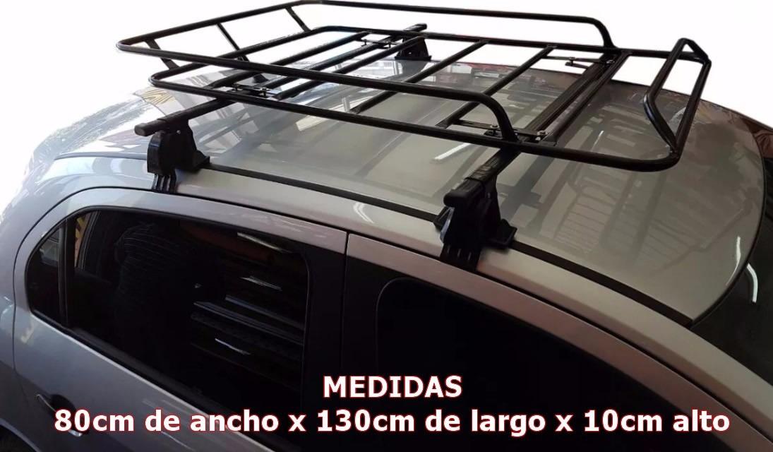 Barras Porta Equipaje + Parrilla Portaequipaje Renault Logan ... dd3d38d9f2bb
