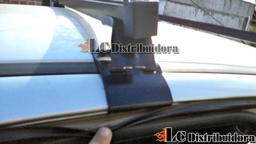 barras porta equipaje peugeot 206 y 207 5 puertas reforzados