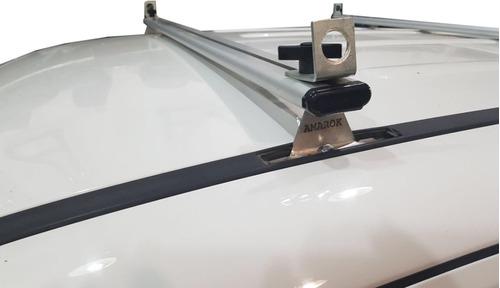 barras portaequipaje aluminio accesorios jorge vw amarok