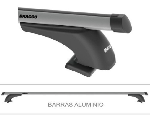 barras portaequipaje aluminio bracco amarok ranger hilux s10