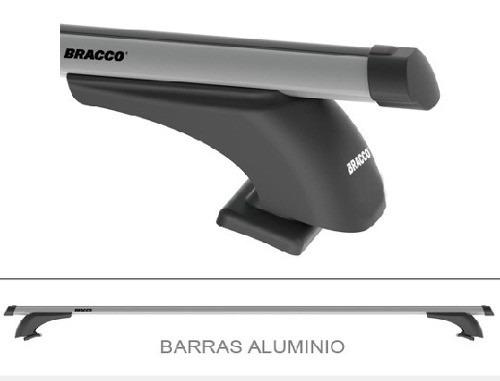barras portaequipaje aluminio bracco chevrolet s10