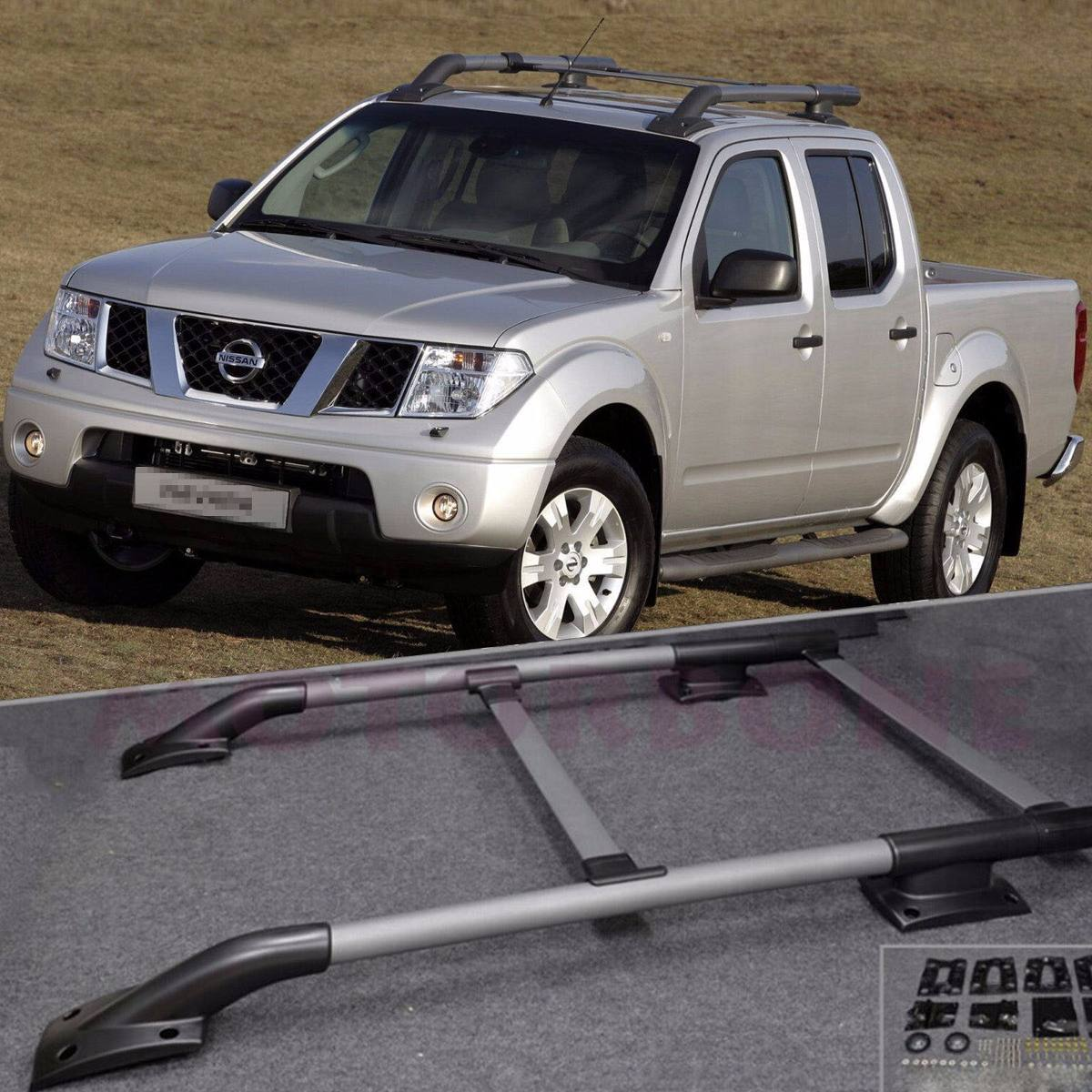barras portaequipaje para nissan frontier 2005 2014 9 en mercado libre. Black Bedroom Furniture Sets. Home Design Ideas