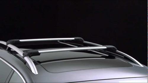 barras portaequipaje universales wing bar candado y cinturon