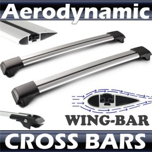 barras portaequipaje universales wing bar con candado