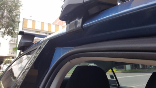 barras portaequipaje vw jetta mk6 rack aluminio ganchos #16