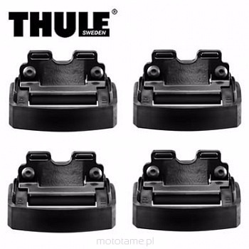 barras portaequipajes thule acero kia sportage riel techo/ p