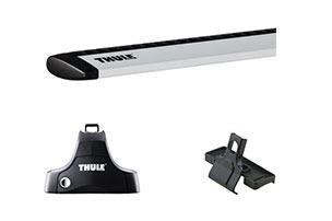 barras portaequipajes thule aluminio kia sportage / portaequ