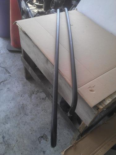 barras protectoras vidrio trasero medallon ford courier