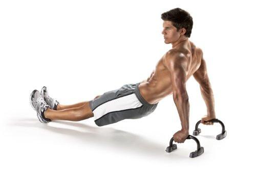 barras push up gimnasio flexiones brazos hombros abdominales