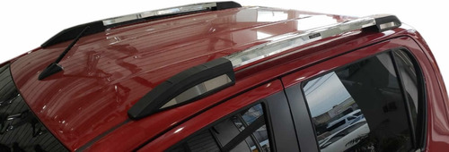 barras techo longitudinal aluminio bepo adhesivas p/ hilux