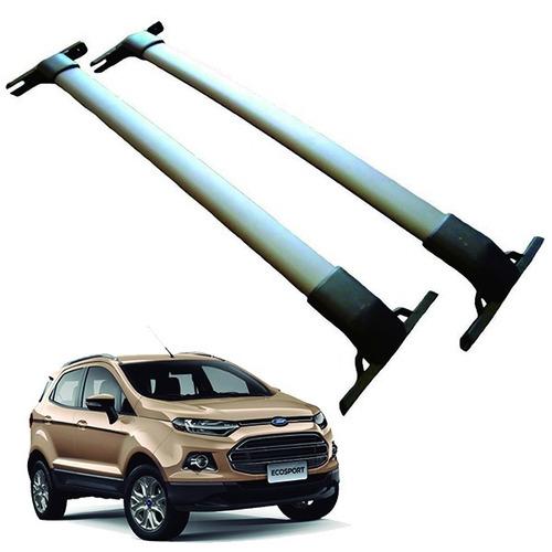 barras techo transversales porta equipaje ecosport kinetic